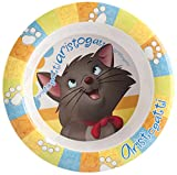 Home Disney Aristogatti Piatto Pappa in Melammina, Multicolore, 18 cm