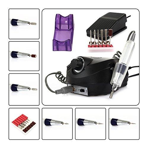 SymbolLife Trapano chiodo, professionale elettrico trapano manicure