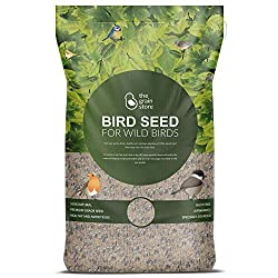 The Grain Store Deluxe Wild Bird Food Mix from Versatile Bakery Grade Recipe To Attract Small Birds To Feeders & Tables | Suitable For Winter & Summer Feeding | Bulk 20KG Sack