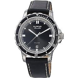 Dugena Herren-Armbanduhr Analog Quarz Leder 7000011