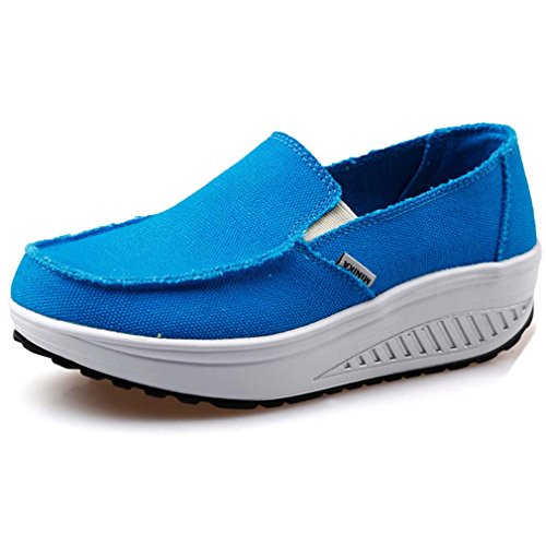 Solshine , Baskets pour femme Bleu