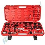 29 PC Motor herramienta de ajuste herramienta de bloqueo correa de distribución levas herramienta de vag Motores INCL. caja y manual