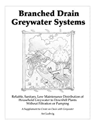 Branched Drain Greywater Systems: Reliable, Sanitary, Low Maintenance Distribution of Household Greywater to Downhill Plants Without Filtration or Pumping