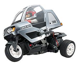 Tamiya 57405 57405-1:8 RC Dancing Rider Trike T3-01 - Maqueta de Coche teledirigido (sin lacar)