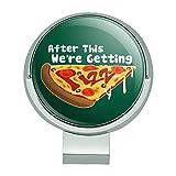 Wir Kommen mit Grafiken und mehr dieser Pizza Funny Golf Hat Clip mit magnetischem Ballmarker