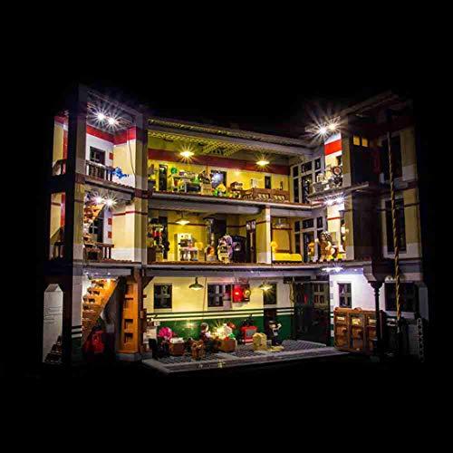 TETAKE LED Beleuchtungsset Licht-Set Beleuchtung Light Kit für Lego 75827 - Ghostbusters Feuerwehr-Hauptquartier (Nicht Enthalten Lego Modell)