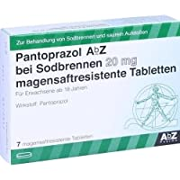 PANTOPRAZOL AbZ bei Sodbrennen 20 mg msr.Tabl. 7 St Tabletten magensaftresistent preisvergleich bei billige-tabletten.eu