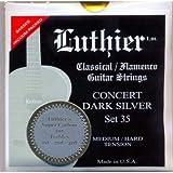 CUERDAS GUITARRA CLASICA - Luthier (LU/35SC) Super Carbon Concert Dark Silver 35 (Juego Completo)