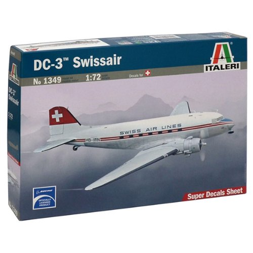 italeri-510001349-172-dc-3-swissair-luftfahrt