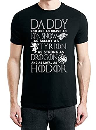 Daddy You Are As Brave As Jon Snow T Shirt Game Of