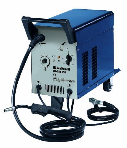 einhell-schutzgas-schweissgeraet-bt-gw-150-bis-150-a-230-v-inkl-masseklemme-brenner-ventilatorkuehlung-fahrbar-schweissschirm-druckminderer-2