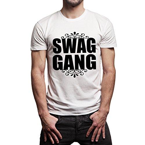 SWAG GANG Correct One Herren T-Shirt Weiß