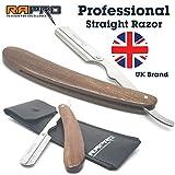RAPRO RP-BR-01 Professioneller Friseur Rasierer (Holzgriff-Rasiermesser)