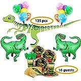 Bea's Party Decorazioni Dinosauri Compleanno Party Dinosauri Compleanno per Bambini Feste Compleanno Dinosauri Kit Dinosauri Compleanno Giardino