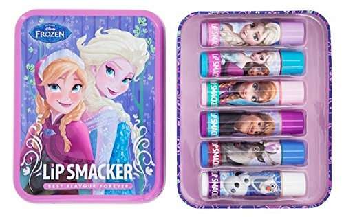 Lip Smacker - Frozen - New Tin Box - 6 baumes à lèvre