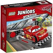 Lego 10730 Juniors Lightning McQueens Beschleunigungsrampe, Auto-Spielzeug
