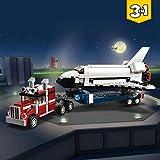 LEGO Creator - Le transporteur de navette - 31091 - Jeu de construction