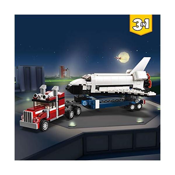 LEGO Creator - Trasportatore di shuttle, 31091 2 spesavip