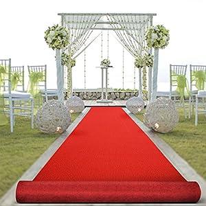Floordirekt Roter Teppich VIP Läufer Event Teppich Premierenteppich Wunschmaß