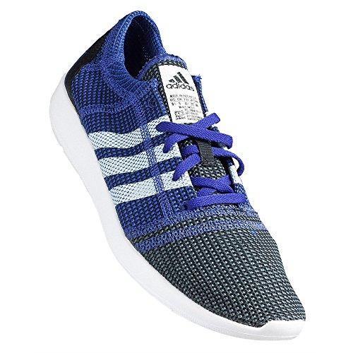Adidas - Element Refine Tricot - Couleur: Blanc-Violet - Pointure: 46.6
