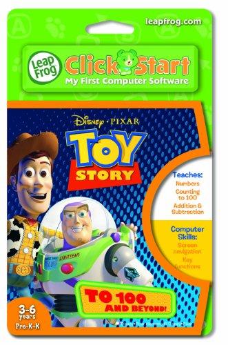 Leapfrog Clickstart Educational Software:Toy Story To 100 + Beyond by LeapFrog Enterprises