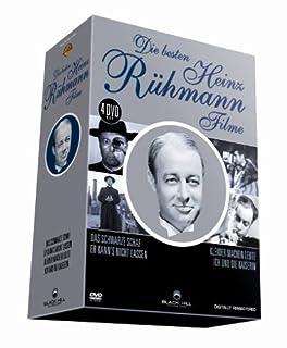 Die besten Heinz Rühmann Filme - 4 DVD Box (Das schwarze Schaf - Er kann's nicht lassen - Ich und die Kaiserin - Kleider machen
