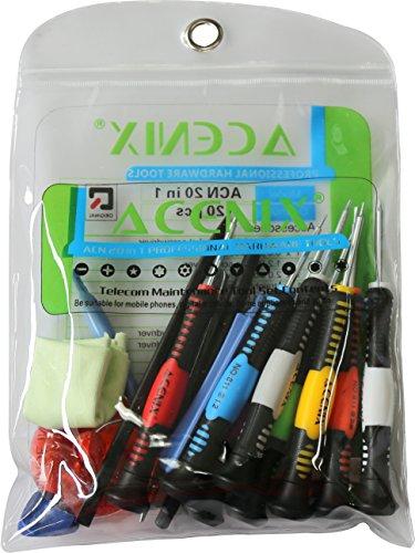 ACENIX® - 20 in 1 Reparatur Werkzeug Schraubendreher Set für Samsung Mobil Phones, Tablet, PDA, PC Pda Tablet Pc