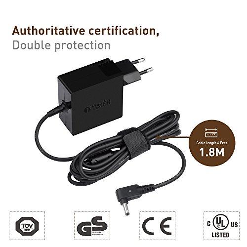 TAIFU 19V 2,37A adaptador de CA para Asus Zenbook UX305CA UX21A,UX31A,UX32A,Asus VivoBook...