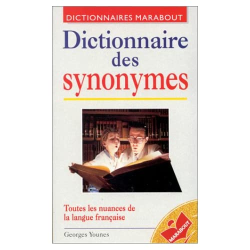 Dictionnaire Marabout des synonymes
