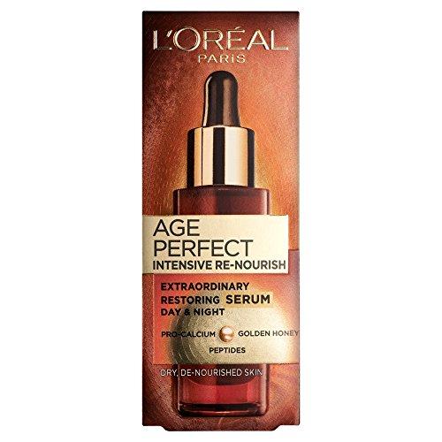 L'Oreal Dermo-Expertise Age Perfect Intensive Re-Nourish Extraordinary Restoring Serum 30ml/1oz - Hautpflege