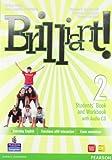 Brilliant! Student's book-Workbook-Culture book. Ediz. leggera. Per la Scuola media. Con CD Audio. Con DVD-ROM. Con espansione online: 2