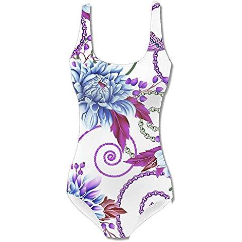 New Look Colorful Floral Printed Womens Swimwear Bikini