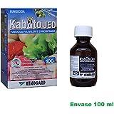 Fungicida concentrado polivalente Kabuto Jed 100ml combate oidio, roya, alternaria, moteado y otros