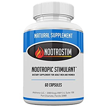 Nootrostim Nootropic Brain Supplements Stimulants For Energy