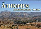 Äthiopien, ursprüngliches Afrika (Wandkalender 2019 DIN A2 quer): Äthiopien, grandiose Landschaften (Monatskalender, 14 Seiten ) (CALVENDO Orte) -