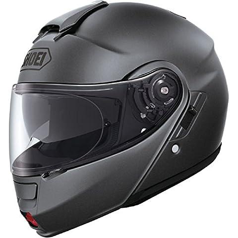 Shoei Neotec tapa frontal para casco de moto, color plateado, grau-matt, XXL (63/64)