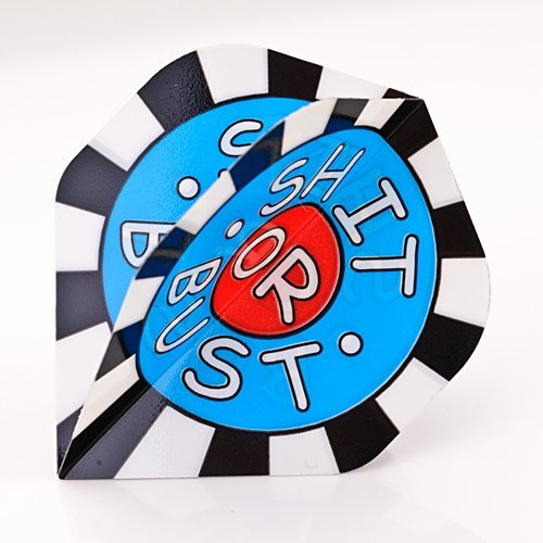 STANDARDGEFORMTE POLY METRONIC DARTS FLIGHTS