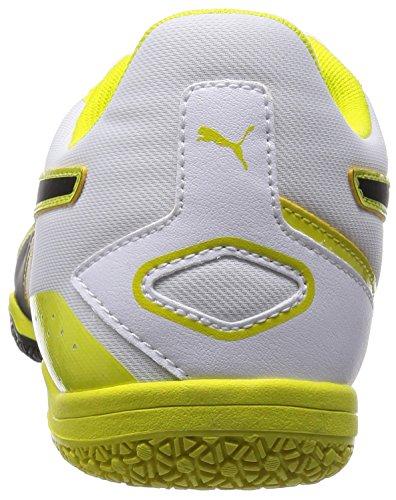 Invicto 02 Sala black Puma Weiß white spring sulphur Herren Futsalschuhe 1q76R