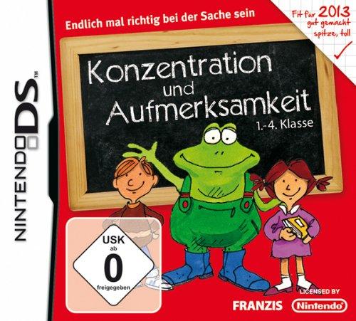Konzentration und Aufmerksamkeit 1.-4. Klasse 2013