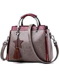 4418e80edac4c Limotai Handbag Handtasche Tasche großer top Handtaschen Mädchen Luxury PU  Damen Umhängetasche Frauen Frauen Damen Handtasche