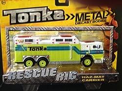 Tonka Rescue Rigs - Haz-Mat Carrier
