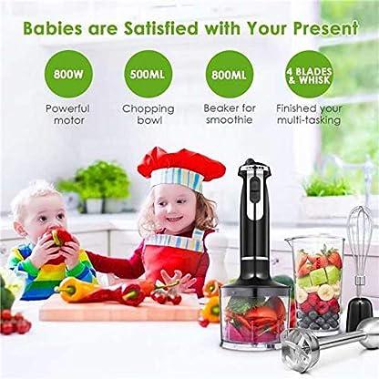 Stabmixer-800W-Aicok-4-in-1-6-Geschwindigkeit-Prierstab-mit-500ml-Kchenmaschine-Aufsatz-und-800ml-Becherglas-Schneebesen-fr-Smoothie-Suppen-Babynahrung-Robustem-Edelstahl