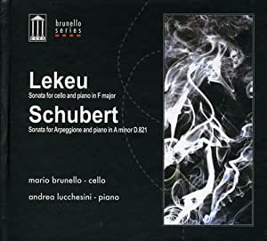 Lekeu/Schubert:Cello Sonata [Import USA]