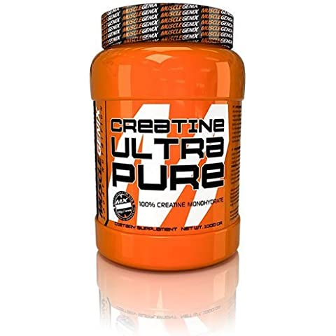 CREATINE ULTRA PURE [1Kg = 1000g] - MUSCLEGENIX (100% creatina