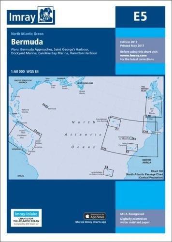 Bermuda-chart (Imray Chart E5: Bermuda (Iolaire))