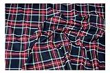Fabrics-City % SCHWARZ ORIGINAL SCHOTTENKARO STOFF TARTAN