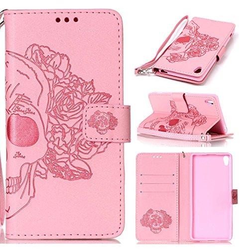 Preisvergleich Produktbild PU Silikon Schutzhülle Handyhülle Painted pc case cover hülle Handy-Fall-Haut Shell Abdeckungen für Sony Xperia XA (5 Zoll (12,7 cm) +Staubstecker (7YY)