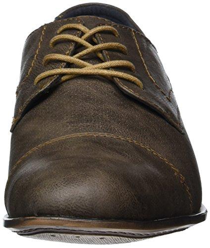 Bm Footwear Herrenschuhe, Derby homme Marron - Braun (stone)