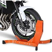 Blocca Ruota Moto per Harley Davidson Softail Springer (FXSTS/I) Constands Easy Plus arancione