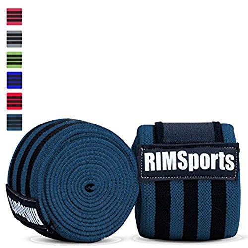 Fasce per ginocchia per ginnastica, crossfit, powerlifting